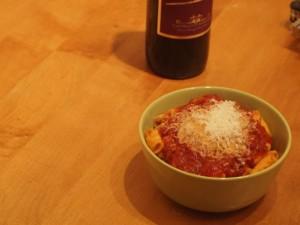 Large Macaroni with Amatriciana